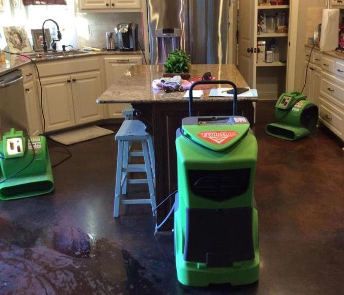 Water damage to Baton Rouge home Before