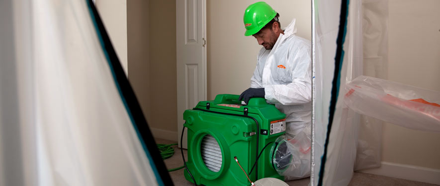 Baton Rouge, LA mold cleanup